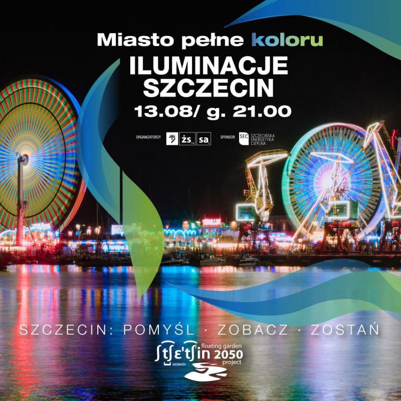 Miasto pełne koloru, czyli Iluminacje Szczecin